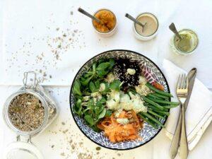 receta aliños para ensalada